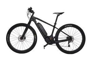 """2018 WINICE Bicicleta eléctrica Bicicleta de carbono ebike 29 """"Bicicletas Bicicletas de montaña velo electrique Shiman0 10 velocidades Batería de Li potente"""