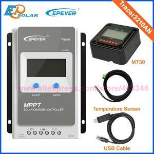 EPsolar MPPT güneş kontrol 30A 30amp MT50 uzaktan metre ile Tracer3210AN için 12 V / 24 V otomatik çalışma