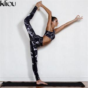 Новый тренировочный костюм женский спортивный костюм комплект тушью для рисования фитнес-набор спортивная одежда леггинсы узкие комбинезоны спортивная одежда оптом одежда