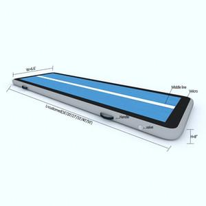 حرية الملاحة تأتي مع مضخة 4x1x0.2 متر نفخ الجمباز حصيرة الهواء المسار التايكواندو الطابق تراجع حصيرة فنون التدريب وسادة