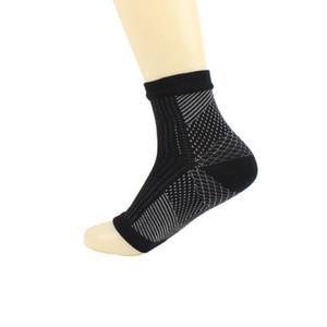 2018 Foot Angel Anti Fatigue Foot Compression Manga Calcetines deportivos Circulación Tobillo Hinchazón Al aire libre Ciclo de carrera Calcetines de baloncesto