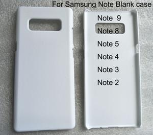 Etui de téléphone 3d Blank Sublimation pour samsung galaxy Note 10 pro 2 3 4 5 Note8 Note 9 étui brillant / mat 10 pièces / lot