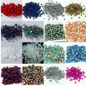 Caldo ~~ 4mm 1000 pz / lotto Bicone 5301 cristalli Austriaci perline Allentati del Branello del Distanziatore per Gioielli FAI DA TE Fare U pick colori