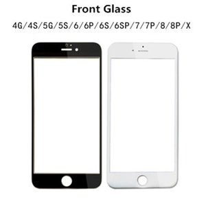 Good Quality Front Outer Touch Screen Glass Panel For iPhone 5 5S 6 Plus 6s 6S Plus 7 8 Plus Replacement Repair Parts With Free DHL Shipping