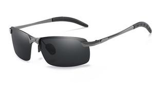 편광 된 선글라스 야간 시계 안경 남성 금속 3043 멋진 선글라스 도매 및 소매 타고 새로운 야외 스포츠