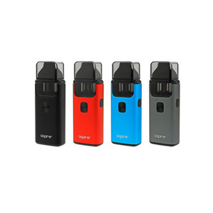 Aspire Breeze 2 Kit AIO All in One Device Sistema de estilo de cápsula de 3 ml con batería de 1000 mAh Batería de 1.0 ohm U-tech 100% Original