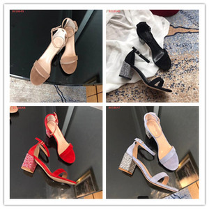 Новые поступления 2018 лакированная кожа острые ощущения каблуки сандалии женщины peep toe Dress свадебные туфли сексуальные письма обувь sumer женская обувь 34-40 пятки