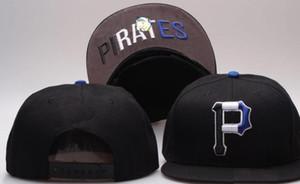 Nouveau Marque de conception Pittsburgh Hat P logo Cap Hommes Femmes Baseball Caps Snapback Solide Couleurs Coton Os Européen Américain De Mode chapeau 001