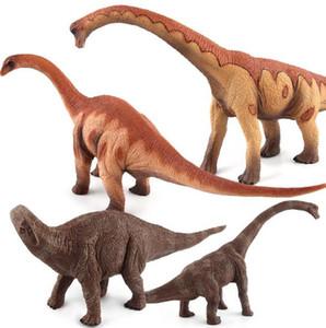 50% Jurassic Dinosaur World Model Toys Jurassic Brachiosaurus Herbivorous Dinosaur Halloween Supplies Niños Juguetes para niños envío gratis