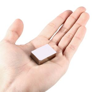 Super Strong Rare Earth Neodimio Blocco Cubo Magnete Block Cuboid Rare Earth Magnete Del Frigorifero Bulk Super Strong Strip Block Spedizione Gratuita NB
