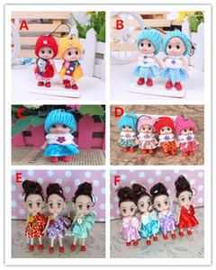2018 scherzt Spielzeug-Puppen-weiche wechselwirkende Baby-Puppen-Spielzeug-Minipuppe für Mädchengeschenk freies Verschiffen