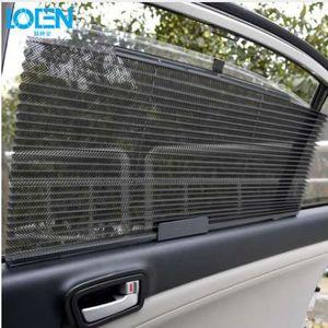 1PCS 60 * 46CM 자동차 차양 블라인드 커튼 개폐식 UV 보호 커버 썬 쉴드 블랙 차량용 윈드 쉴드 사이드 윈도우