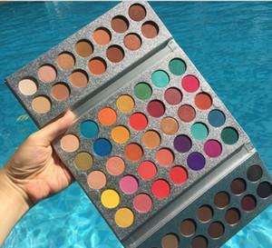 Новейшие Hot Makeup Beauty 63 цвета Палитра теней для век Великолепные тени для век для глаз Косметика для глаз Высокое качество доставки DHL