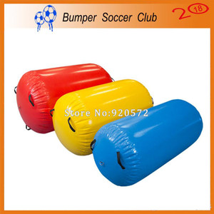 Free shipping inflatable gymnastics air mat barrel,air gym equipment inflatable air track roller