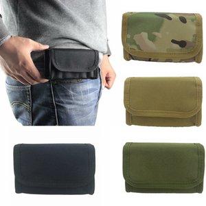 10 Rounds Shotgun Shell Holder Caccia MOLLE / Marsupio Airsoft Shotshell Pouch Tactical 12GA 20Gauge Ammo Cartridges Carrier