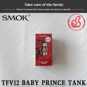 Original smok TFV12 bébé Prince réservoir 4.5ml Beast King avec V8 bébé Q4 T12 bobines de maille atomiseur 100% authentique DHL gratuit