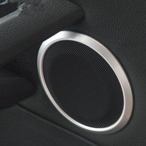 Porta de Carro Áudio Speaker Círculo Trumpet Anel Decoração Tampa guarnição Para BMW 3/4 série 3GT 2013-18 ABS