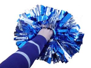 40cm Cheerleader Esportes Pompons (6pieces / Lot) Pvc Cheerleader Pompoms Jogo Cheerleading Suprimentos cor pode Outdoor ACCS