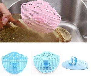 Smile Clip Typ Reinigung Reis Waschen Entwässerung Sieb Abtropffläche Gerät Sieb Kochen Werkzeuge Trümmer Filter Küche Gadgets