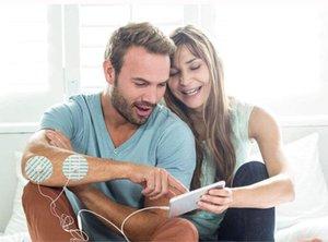 Strumento di massaggio portatile della stampa intelligente cervicale della spina dorsale della parte posteriore mini dispositivo di massaggio del bastone di magia 6 tecniche di massaggio