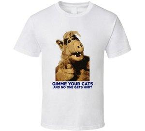 Alf Gimme Your Funny T-Shirt Fan des années 80 TV
