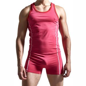 Sexy Men Bodysuit Unterwäsche Herren Club Wrest Jumpsuit Unterhemden Korsett Shapewear Für Männer