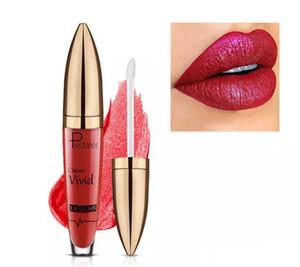 Hochwertige Pudaier Antihaft-Tasse Nahrhaft Flüssig Lip Gloss Glitter Flip 18 Farben Glitter Pigment Diamant Wasserdicht Flüssig Lippenstift