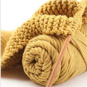 100g / pcs Dick Garne zum Stricken High Grade für Hand stricken Shag Hut Schal Merino Wolle Crochet Yarn