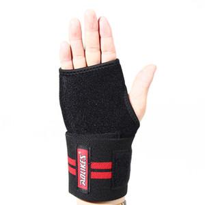Apoio para o punho Aolikes Elastic Wrist Luva de Palm Arthritis Mão Brace luva Suportes para pulso ajustável Proteger Pads aperto
