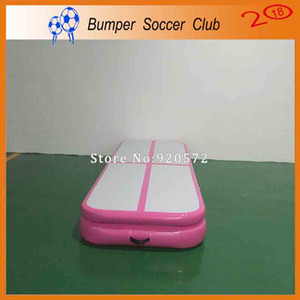 Free Shipping Door To Door Free Pump 4x1x0.2m Pink Inflatable Air Mat Inflatable Tumble Track Inflatable Air Track For Sale