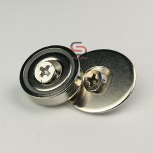 10pk 13KG неодимовый магнит потайной чашка D20mm с винтами Забастовка пластинчатых Magnetic кабинет дверные защелки наборы