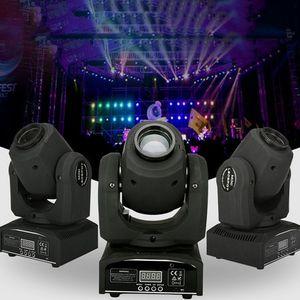 Светодиодные 8цвета 30Вт 60Вт DMX света этапа пятна движутся 8 11 каналов миниый Сид moving головной следуйте освещения для DJ эффект света диско танец