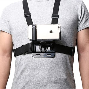 Portacellulare universale con cintura toracica Gopro / cinturino per iPhone Samsung Huawei xiaomi smartphone per arrampicata in bicicletta
