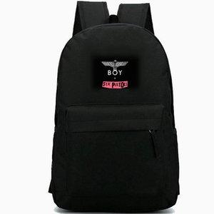 London Boy Backpack Sex Pistol Daypack Paul Cook Rock Band Schoolbag Music Rucksack الرياضة حقيبة مدرسية في الهواء الطلق حزمة