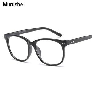 Murushe Retro Round Eyewear Clear Glasses Spectacles Optical Eye Glasses Frames Transparent Eyeglasses Frame Fake 2018