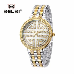 China knot kreative Uhr Diamond Fashion edle wasserdichte Quarzuhren