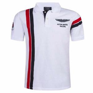 2018 neue sommer herren kurzarm stickerei polo hemd herrenmode atmungsaktiv polo hemd camisa revers dünne tops s-xxxl 59