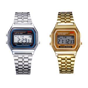 Best Deal Retail Atacado Relógios De Pulso Frete Grátis F-91W Relógios f91 Moda-fino LED Mudança Relógios F91 W Esporte Assista