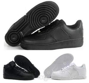 2018 nuevo estilo Casual New Forces White negro Low High Cut Mens Women exterior zapatos para caminar Zapatos de hombre clásico