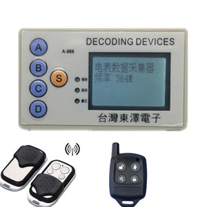 Codice DECOING dispositivi RF Wireless Security Scanner Grabber 315MHz 330MHz 430MHz a 433MHz Decodifica Molti chipset