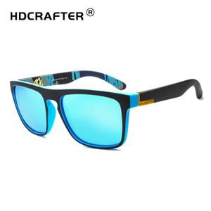 كبيرة الحجم الاستقطاب نظارات للرجال 56 ملليمتر D731 ساحة نظارات شمس uv400 الراتنج نظارات hdcrafter رياضة القيادة نظارات مع حالة