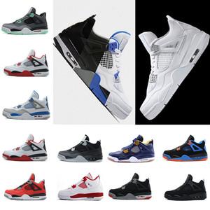 Gros Hommes Chaussures 4 Basketball Hommes Pas Cher 4s Bottes Authentique Laser En Ligne À Vendre Sneakers Hommes Sport Chaussures Taille 41-47
