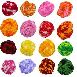Neuer Entwurf 50pcs Zwei-Ton Nylon Blumen Stocking Materialien Making Home-Dekor-Silk Blumen-Stocking DIY Hochzeit Dekoration Blume