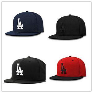 Toptan 2018 Yeni LA LA LA Sırt Çantası Şapkalar Marka ABD Koleji Karikatür Logosu Ayarlanabilir Kapaklar Moda Hip Hop Chapeaus
