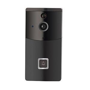 16GB TF Carte + HD 720P Caméra de sécurité Wifi sans fil Smart Doorbell Camera Intercom audio bidirectionnel vidéo en temps réel, PIR Motion