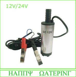 DC Fuel Water Oil Pump 12V24V Car Camping sumergible Diesel Transfer Pump Envío gratis