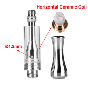 Bud Touch 510 Cartridges Vape Cart Stainless Steel Metal Tip Wax Thick Oil Vaporizer Ac1003 Ceramic Atomizer Cartomizer DHL shipping