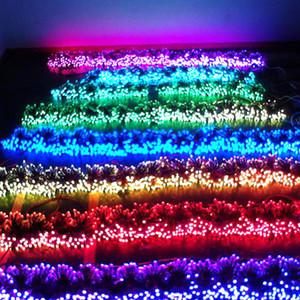 NUEVO diseño 10m secuencia de 100 LED enciende la lámpara impermeable para las decoraciones de Navidad LED para el hogar Luces Decoración Decoración de la guirnalda