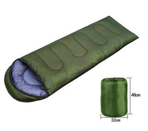 Im Freienschlafsäcke, die einzelnen Sommer-Schlafsack-beiläufige wasserdichte Decken-Umschlag-kampierende Reise wärmen, die Großhandelsschlafsack wandern