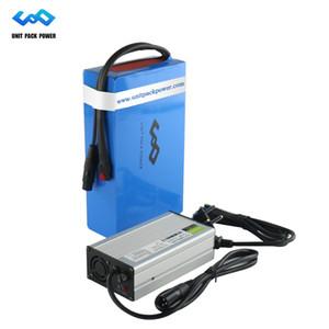 EEUU AU de la UE Impuesto personalizada 48V de litio batería 48V 12Ah Ebike además del cargador 30A BMS para 1000W Motor Bafang
